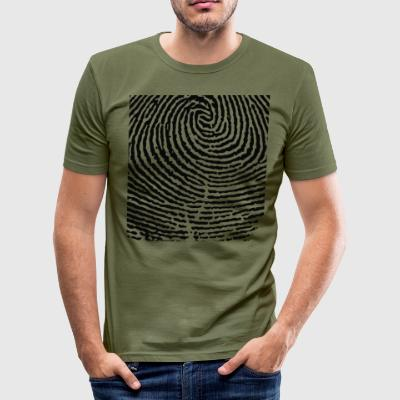 fingeraftryk - Herre Slim Fit T-Shirt