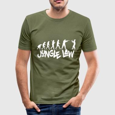 JUNGLE_LAW - Männer Slim Fit T-Shirt