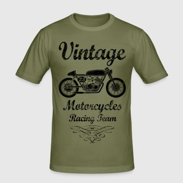 motorcycles racing team - Männer Slim Fit T-Shirt