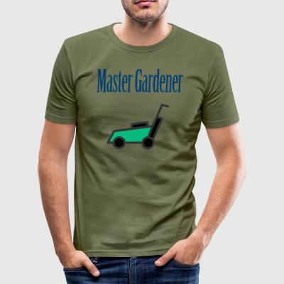 Master gartner - Slim Fit T-skjorte for menn
