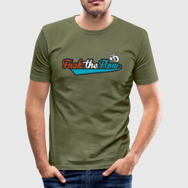 FTF carmine red png - Slim Fit T-skjorte for menn