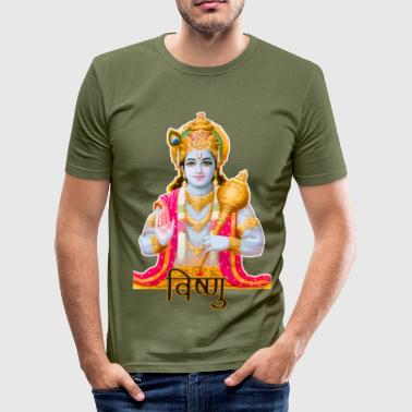Vishnu (goddess) - Men's Slim Fit T-Shirt