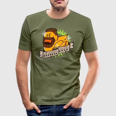 Bearded Duck - Tee shirt près du corps Homme