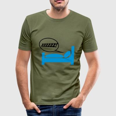 snore 2541614 14490651 - Herre Slim Fit T-Shirt