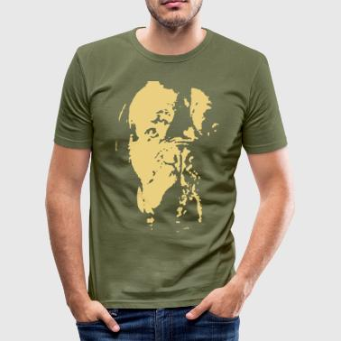 hund - Herre Slim Fit T-Shirt