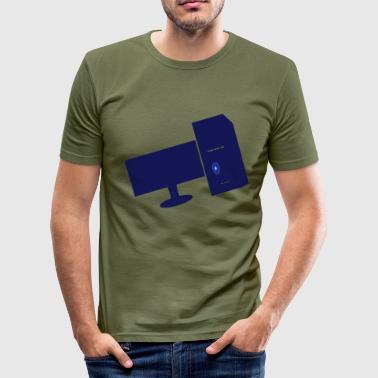 computers - slim fit T-shirt