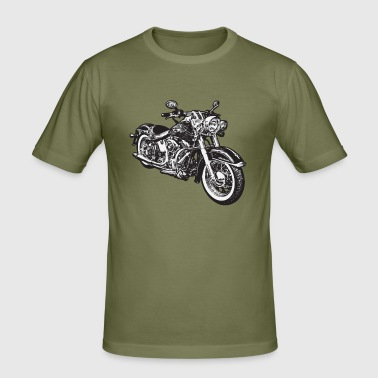 chopper hog bike motorrad - Men's Slim Fit T-Shirt