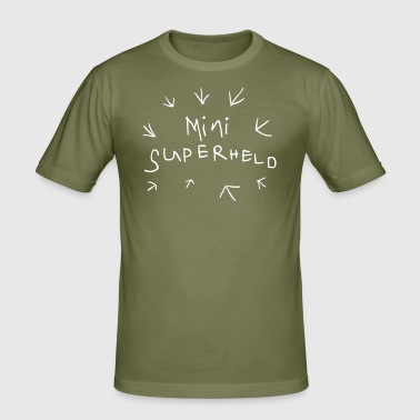-Superheld - Männer Slim Fit T-Shirt