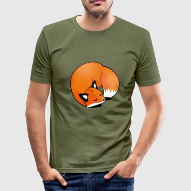 Nowakis Fuchs - Slim Fit T-shirt herr