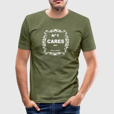 INGEN 1 Cares - Slim Fit T-skjorte for menn