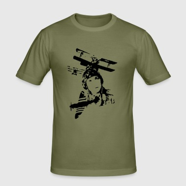 battle_warbirds de - Männer Slim Fit T-Shirt