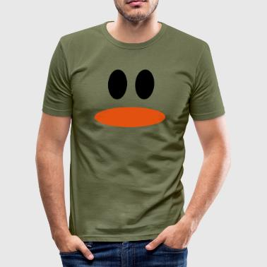 Ente - Männer Slim Fit T-Shirt