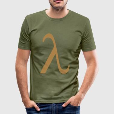 Lambda - Men's Slim Fit T-Shirt