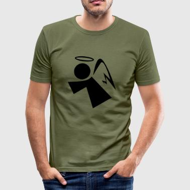 Engel - Männer Slim Fit T-Shirt