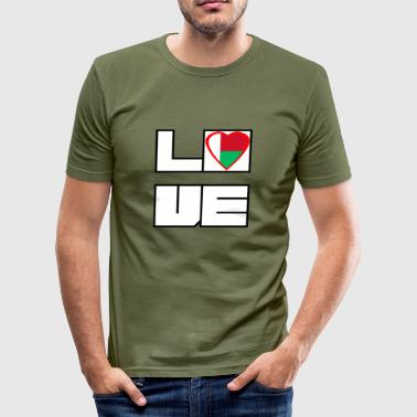 Loveland Roots Madagaskar - Slim Fit T-shirt herr