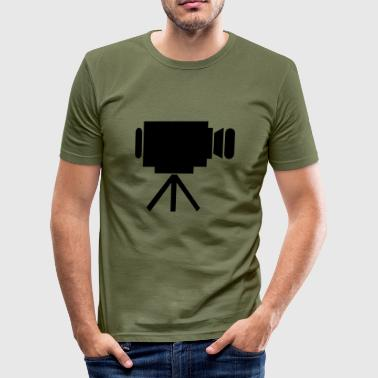 Kino - Männer Slim Fit T-Shirt