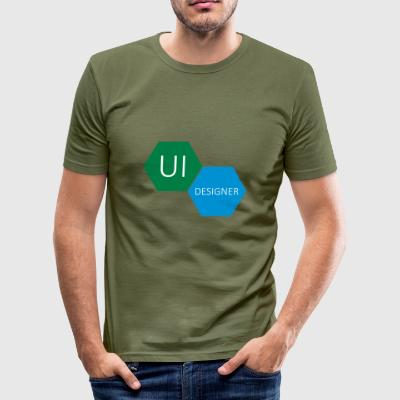 UI User Interface Designer - slim fit T-shirt