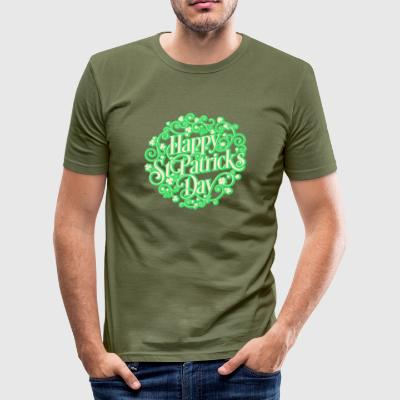 St. Patrick's Day! St. Patrick's Day! - Men's Slim Fit T-Shirt