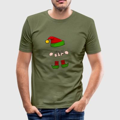 ELF - ELVES - XMAS - Christmas Gift - Men's Slim Fit T-Shirt