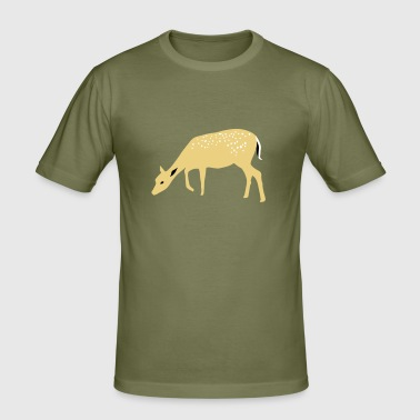 Roe deer Rehkids - Men's Slim Fit T-Shirt