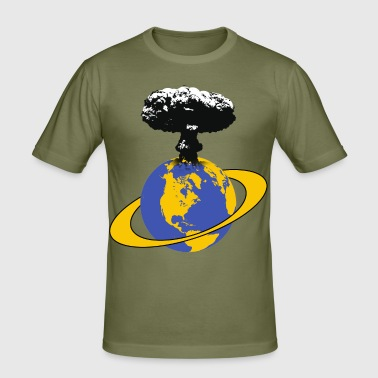 the end of the world - Men's Slim Fit T-Shirt