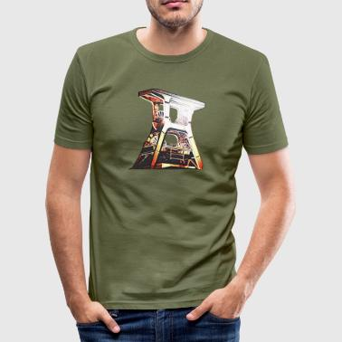 Zeche Zollverein - Herre Slim Fit T-Shirt