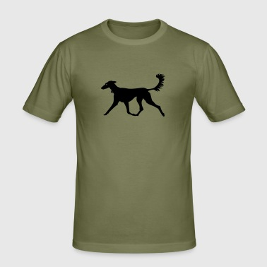 Windhund / greyhound (1c) - Men's Slim Fit T-Shirt