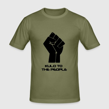Kulo to the People - Männer Slim Fit T-Shirt