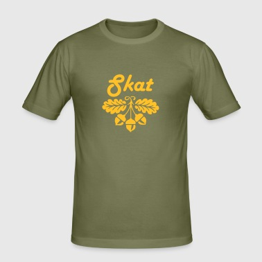 skat - Men's Slim Fit T-Shirt