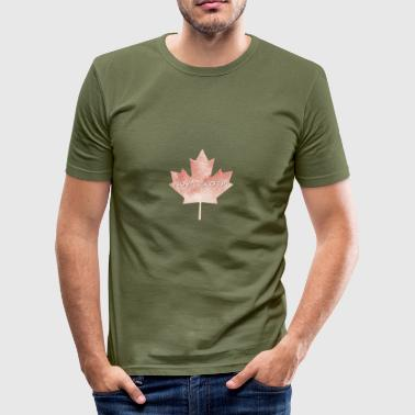 Nova Scotia maple leaf - Men's Slim Fit T-Shirt
