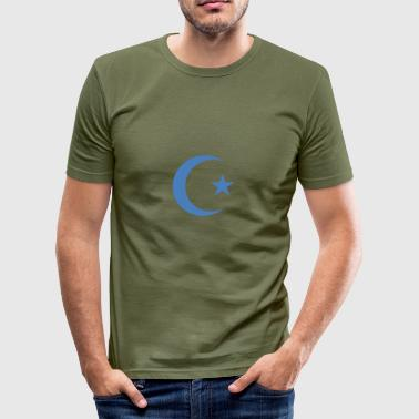 Croissant - Men's Slim Fit T-Shirt