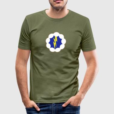 USA 9th Airborne Division - Herre Slim Fit T-Shirt