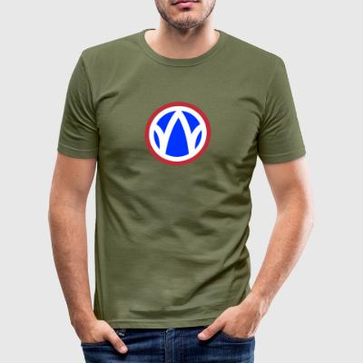 89th Infantry Division - Men's Slim Fit T-Shirt