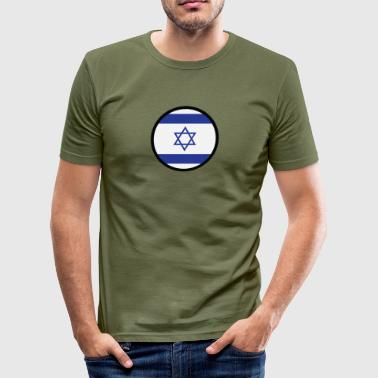 Under The Sign of Israel - Herre Slim Fit T-Shirt