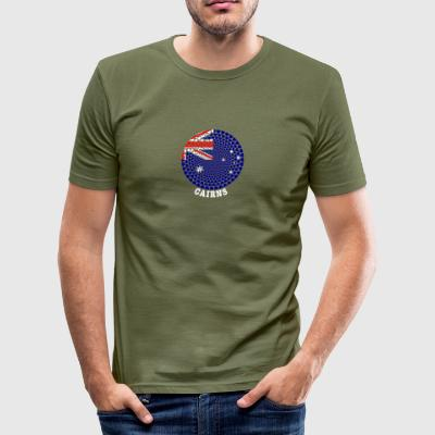 Cairns - Men's Slim Fit T-Shirt