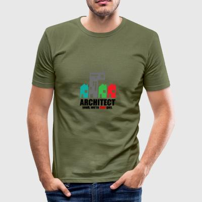 Architekt / Architektur: Architect. Yeah, We´re - Männer Slim Fit T-Shirt