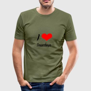 I love Donaueschingen - Männer Slim Fit T-Shirt