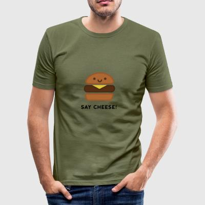 Say Cheese! - slim fit T-shirt