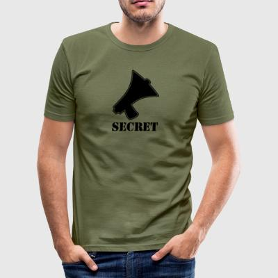 secret blak - slim fit T-shirt