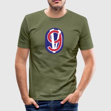 95th Training Division - Slim Fit T-skjorte for menn