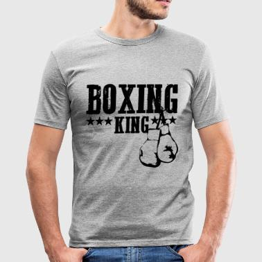 sport, boxen, Box-Sport - Männer Slim Fit T-Shirt