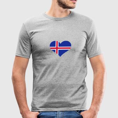 Island - Männer Slim Fit T-Shirt