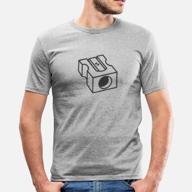 Pencil Sharpener Stirrer - Pencil Sharpener - Men's Slim Fit T-Shirt