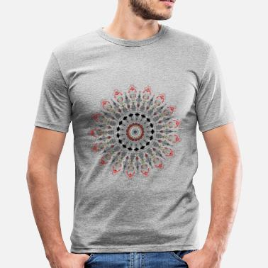 Zen Classic Mandala No.28 - slim fit T-shirt
