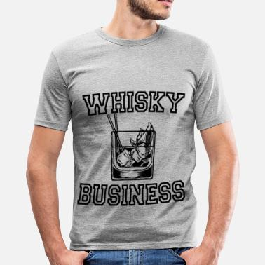 Whisky WHISKY - Slim fit T-shirt mænd