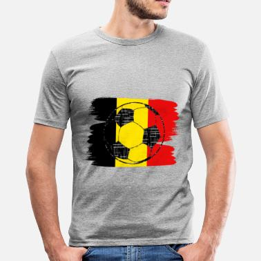 Belgium Football Belgium football - Men's Slim Fit T-Shirt