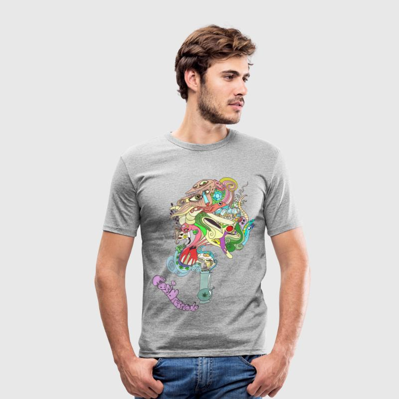 ghostweed - Männer Slim Fit T-Shirt