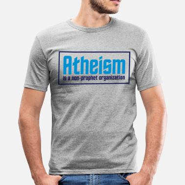 Christian Atheism: A non-prophet organization - Men's Slim Fit T-Shirt