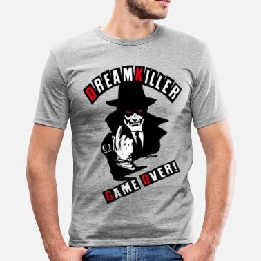Art dreamkiller Game Over - Slim Fit T-shirt herr