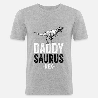45920e352 DADDYSAURUS REX - Funny Gift Dad Father Men's Premium T-Shirt ...